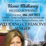 Fiona Mullaney Wedding Ceremony Singer