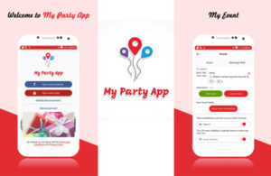 my party app Create your unique party page